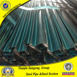 Tubo speciale laminato a freddo dell'acciaio della sezione della cavità di figura di profilo della finestra