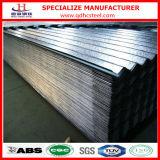 Aluminiumzink-überzogenes gewölbtes Dach-Blatt