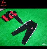 Conjunto del Tracksuit del entrenamiento del fútbol de los uniformes escolares de la juventud de los niños