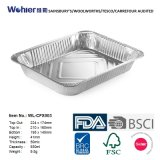 Het Dienblad van de Folie van het milieuvriendelijke en Aluminium van de Verwijdering voor het Gebruik van de Keuken