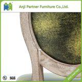 현대 포도 수확 나무로 되는 호화스러운 식사 가구 의자 (Jill)