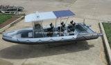 Patrulla de la costilla de /Fiberglass del barco de motor de China Aqualand 30feet los 9m Rigidinflatable/barco militar (RIB900B)