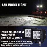 Inondation de lumière de travail de DEL conduisant le camion tous terrains Etats-Unis de bateau de véhicule de la lampe 12V 24V