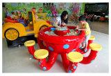 Tabela educacional da areia do brinquedo do polvo dos jogos dos brinquedos da areia mágica do centro de entretenimento da família