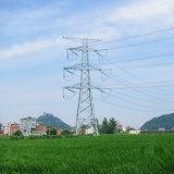 Башня передачи силы угла цепи 220 Kv Doubule стальная