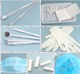 Jogo descartável dental médico de Disposbale do jogo dental plástico médico oral cirúrgico do dispositivo do bloco do cuidado