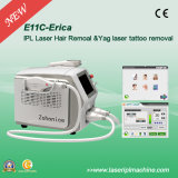 2000W Powerful IPL Hair Removal und Qswitch Nd YAG Tattoo Remove Machine