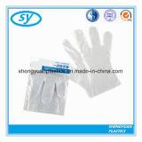 Beschikbare Plastiek Gevouwen HDPE LDPE Handschoen