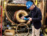 endoscópio da indústria de 4mm com controle do manche de 360 graus