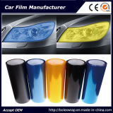 Цвет автомобиля светлый изменяя оборачивающ пленку подкраской фары автомобиля