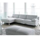 Modernes europäisches ledernes Sofa für Wohnzimmer S8028