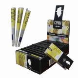 Zigarettenetuis, die Walzen-Papier rauchen