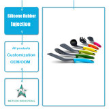Productos de silicona de grado alimentario personalizados Uso diario de vajilla Herramientas de cocina de silicona