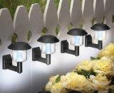 Solarlichter im Freiender garten-Yard-Zaun-angeschaltene Wand-Montierungs-LED