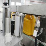 Halb-Selbstflacher Flaschen-Aufkleber-Etikettiermaschine