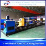 máquina de estaca redonda 3-Axis do CNC da tubulação