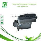 Pack batterie de lithium 36V 15ah pour la bicyclette électrique avec le cas de grenouille