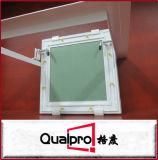 Volets enduits de plaque de plâtre de vert d'épreuve de l'eau de poudre blanche Ap7720