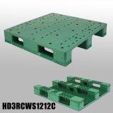 Fabrication en plastique de palette de catégorie comestible de transport avec le HDPE