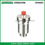 Vávula de bola automática de cobre amarillo de la salida de aire del mejor radiador de la venta (IC-3009)