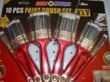 Conjunto de cepillo plástico de pintura de la maneta con el filamento afilado