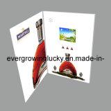 Поздравительная открытка экрана LCD видео- для рождества