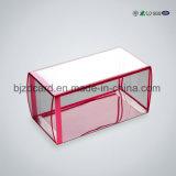 豪華なFoldable Offprintingペットプラスチックケーキの包装ボックス