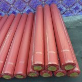 крен пола PVC затыловки войлока красного цвета 0.7mm