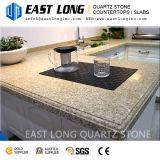Lajes da pedra de quartzo da cor do granito para Tabletops da barra