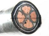 Geïsoleerdet XLPE, Gepantserd, de pvc In de schede gestoken Kabel van het Koper