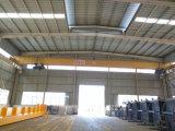 Pont roulant utilisé par atelier de poutre simple de grue de passerelle de structure métallique avec l'élévateur électrique