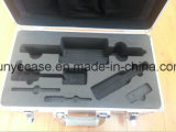 Caja de aluminio para las herramientas que empaquetan con espuma y el bolso del recorte