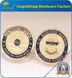優秀な品質の堅いエナメルのダイヤモンドの切口の端の挑戦硬貨の製造業者
