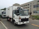 HOWO Marke gekühlter LKW für das Kochen/Special Refrigerated Van Truck
