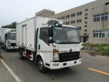 TruckのためのHOWOのブランドによって冷やされているトラック調理/Special Refrigeratedヴァン