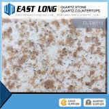 Double pierre neuve de quartz de la couleur 2016, brames artificielles de pierre de quartz