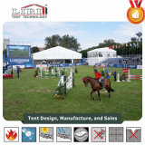 Tenda di sport utilizzata per l'equitazione