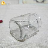 De kleine Ronde Verzegelbare Kruik van het Glas voor het Kruid van het Suikergoed