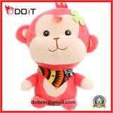 中国のプラシ天のおもちゃの工場少し花猿のプラシ天のおもちゃ