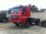 Sinotruk HOWO 4X4のトラクターのトラックZz4187n3727A