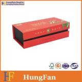 Écran de style de livre Boîte cadeau en papier d'emballage pour thé
