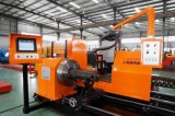 Máquina de corte da tubulação do plasma do CNC, máquina de corte da tubulação