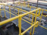 FEP/GRP Grating/FRP Pultruded Profile des Handlauf-Profile/FRP