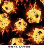 La impresión de la transferencia del agua de la película de la llama caliente PVA de la venta/la energía hidraúlica hidrográficas Filmfilm de inmersión modela Lrf011b
