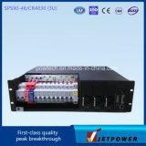 Sub-bastidor 3U 220VAC Sistema / 48VDC 90A rectificador