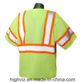 Alta maglia di sicurezza di visibilità con ANSI07 (C3002)
