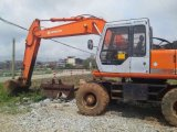 Mismo usadas las buenas condiciones Japón original hicieron el excavador Ex160wd de Hitachi Weheel