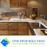 Chapa y muebles blancos de la cabina de cocina del armario del final del color (ZY 1185)