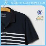 Vente en gros rayée Chine de chemise de polo du coton Nice des hommes beaux de qualité
