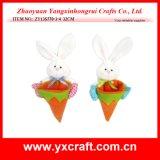 Decorazione dell'elemento del regalo del coniglio di Pasqua della decorazione di Pasqua (ZY14C871-1-2)